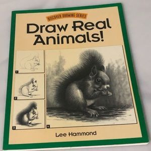 🔵Discover Drawing Series Draw Real Animals Book
